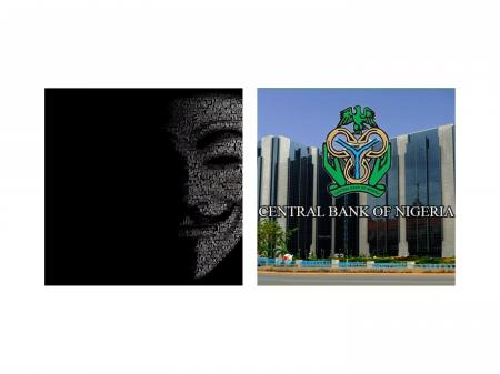 Anonymous Hacks Central Banks Of Nigeria (CBN) Official Website